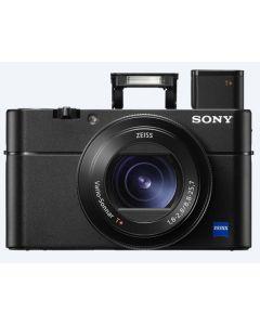 """كاميرا سوني مدمجة DSC-RX100M5 بحساس  مقاس 1"""" و نظام 4K  للفيديو  + بطاقه ذاكره 16 جيجابايت"""
