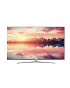 """تلفزيون هايير65""""  4K HQLED UHD HDR بنظام اندرويد 9 مع خاصية الذكاء الصناعي  بتصميم فائق النحافة و جسم معدني بدون اطار(LE65S8000UG)"""