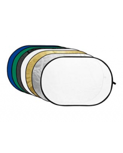 GODOX 7-in-1 gold , silver ,black ,white ,translucent, blue, green 110CM (RFT-10 110CM)