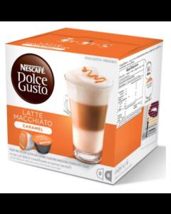 NESCAFÉ Dolce Gusto, Caramel Latte Macchiato 16CAP (Caramel Macchiato)
