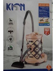 KION Vacuum Cleaner 2000 W Power & 21L Capacity (OR-DVC 602)