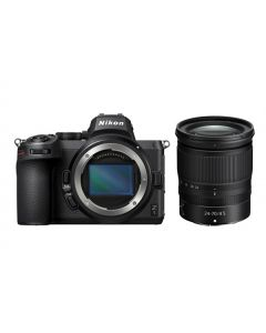 Nikon Z5 Kit With 24-70 F/4 Lens, Full Frame Mirrorless Camera (VOK040XM)