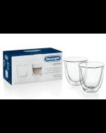 De'Longhi Cappuccino Cups - Set of 2 Glasses - 190 ML (5513214601)