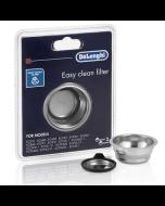 De'Longhi Easy Clean Filter for select Manual Espresso Machines, 2 cup - DLSC401 (5513281001)