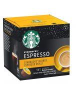 Starbucks Blonde Espresso Capsules By Nescafe Coffee Pods Box of 12 (SBUX ESPRESSO BLONDE-HC)