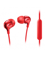 فيليبس سماعات أذن مع ميكروفون مدمج -احمر (SHE3705RD/00)