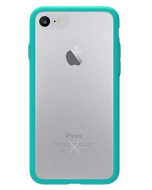 Philo Slim Bumper Hard Case For iPhone 7 / 8 + Light Blue (PH021LB)