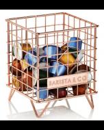 Barista & Co Coffee Pod Cage - Copper (BC301-020)