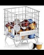 Barista & Co Coffee Pod Cage -  steel (BC301-005)