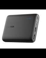 Anker 13000mAH Portable Power Bank – Black (A1215H11)