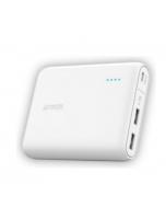 Anker 13000mAH Portable Power Bank – White (A1215H21)