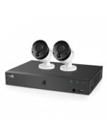 HomeGuard 1080P 4CH DVR & 2x 1080P PIR Heat-sensing Day/Night CCTV Cameras 1TB (HGDVK-44402)