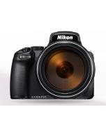 كاميرا نيكون شبه احترافية كولبكس P1000 تقريب 125 X فيديو 4K + بطاقه ذاكره 16 جيجابايت + ML-L7 جهاز تحكم عن بعد (VQA060MA)