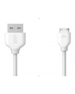 ANKER Powerline Micro Usb Cable 0.9m, White(A8132H21)