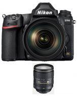 كاميرا نيكون D780 هيكل فقط + بطاقة ذاكره 64 جيجابايت +  عدسة 24-120 (VBA560AM)