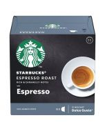 Starbucks Dark Espresso Capsules By Nescafe Coffee Pods Box of 12 (SBUX DARK ESPRESSO ROAST)