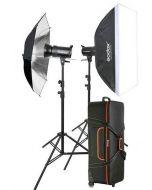 Godox SK300  Studio 2 Head Kit + 2 Light Stand (SK300-KIT)
