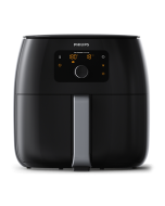 Philips HD9650/94 Avance Collection Airfryer XXL Twin TurboStar Rapid Air Technology Black (HD9650/94)
