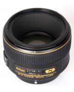 نيكون ايه اف-اس نيكور 58 ملم Nikon AF-S Nikkor 58mm- front