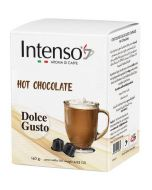 Intenso Dolce Gusto Hot Chocolate, 10 Capsules (INTENSO-HOT CHOCOLATE)