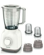 Philips Daily Collection Blender, 400W, 1.5 L Plastic Jar, White (HR2113/05)