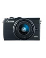 Canon EOS M100 EF-M 15-45mm IS STM Kit Black (EOSM100) + Memory Card 16GB