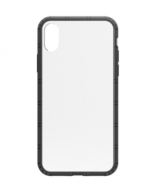 Philo Hard Case Soft Bumper Iphone x - Black (PH024BK)