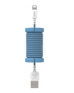 Philo Spool Lightning MFI Cable, BLUE (PH004BL)