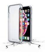 سيلولارلين غلاف لهاتف أيفون إكس ماكس شفاف (CLEARDUOIPHX65T)