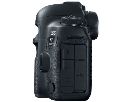 CANON EOS 5D MARK IV SIDE VIEW