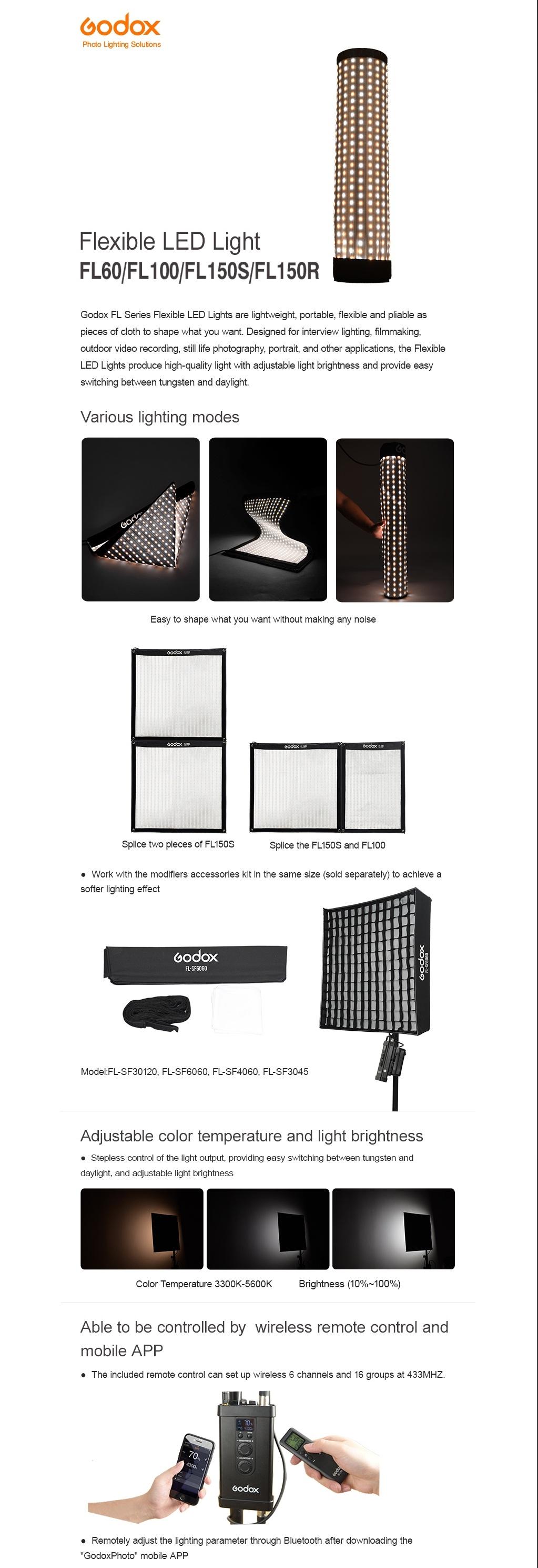 Flexible LED Light FL150S