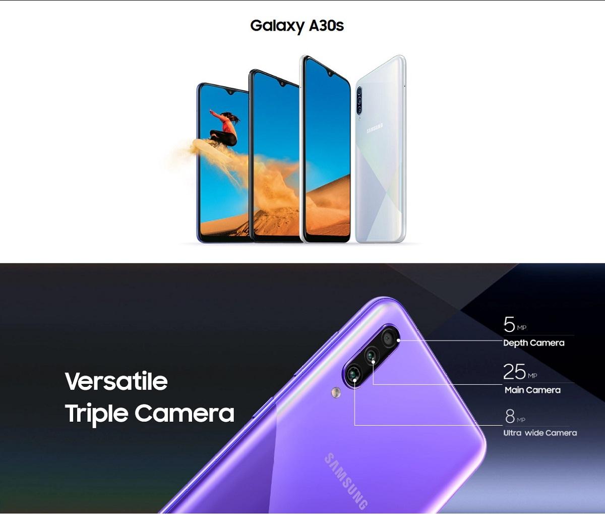 Galaxy A30s